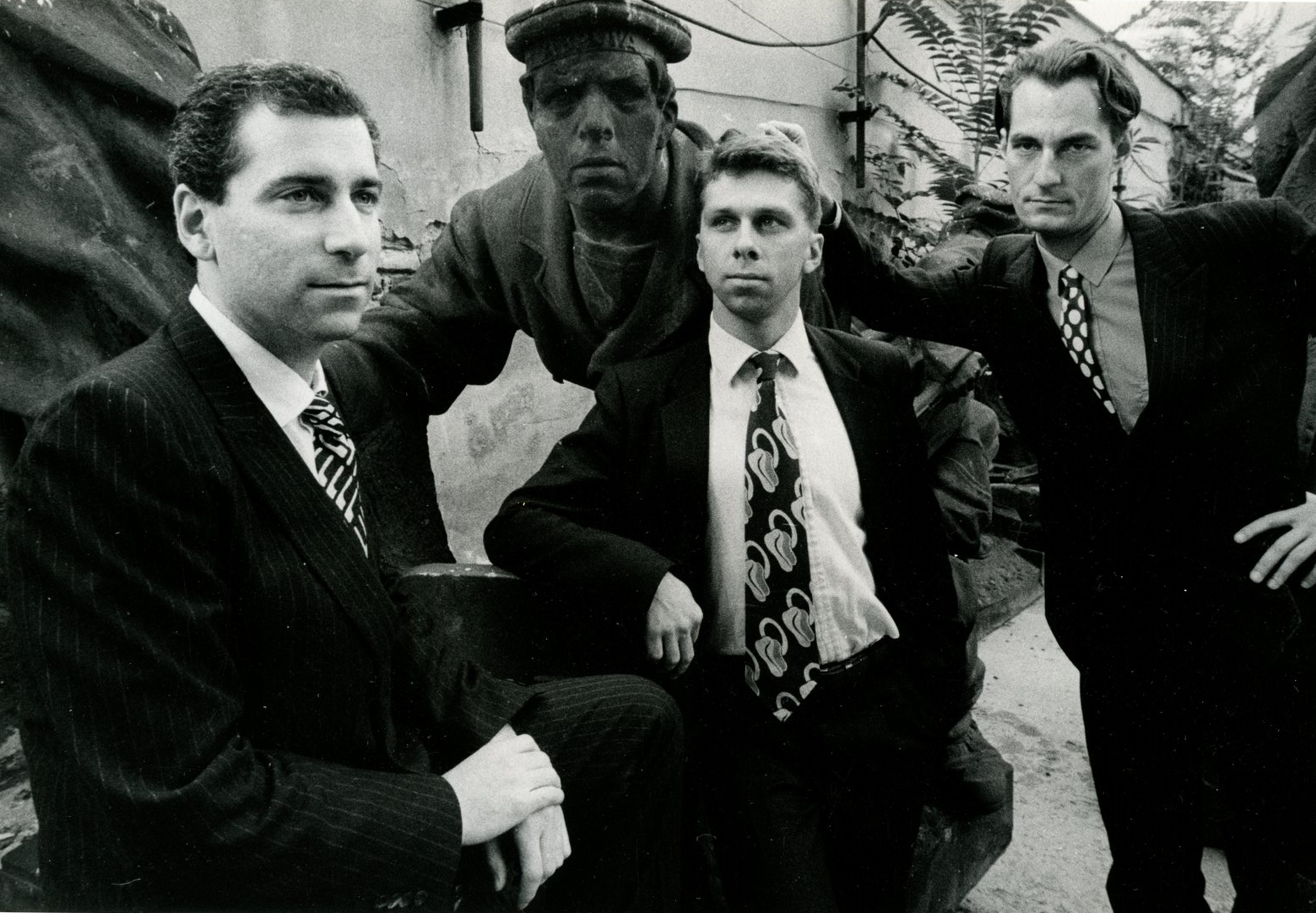 Eric Rosenzveig, Phil Giborski and Jeff Noble