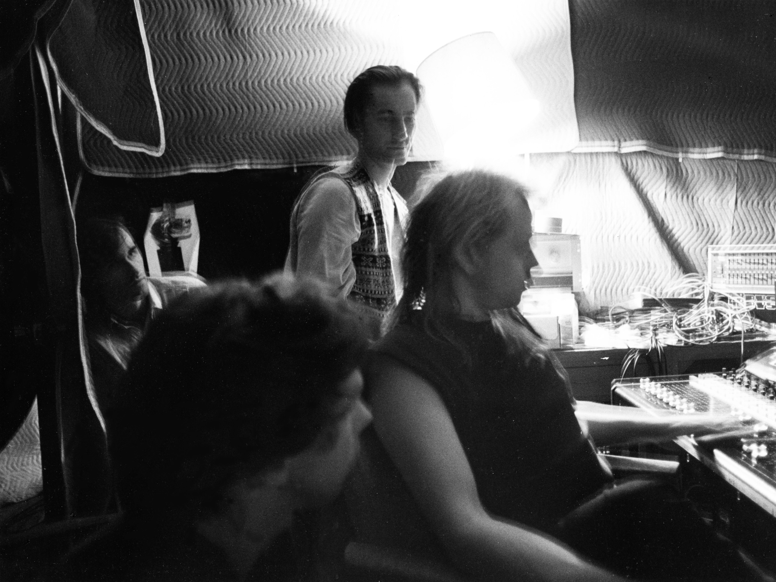 Recording Plays for You with engineer Eddy Freedman and Mark Nugent (in corner)