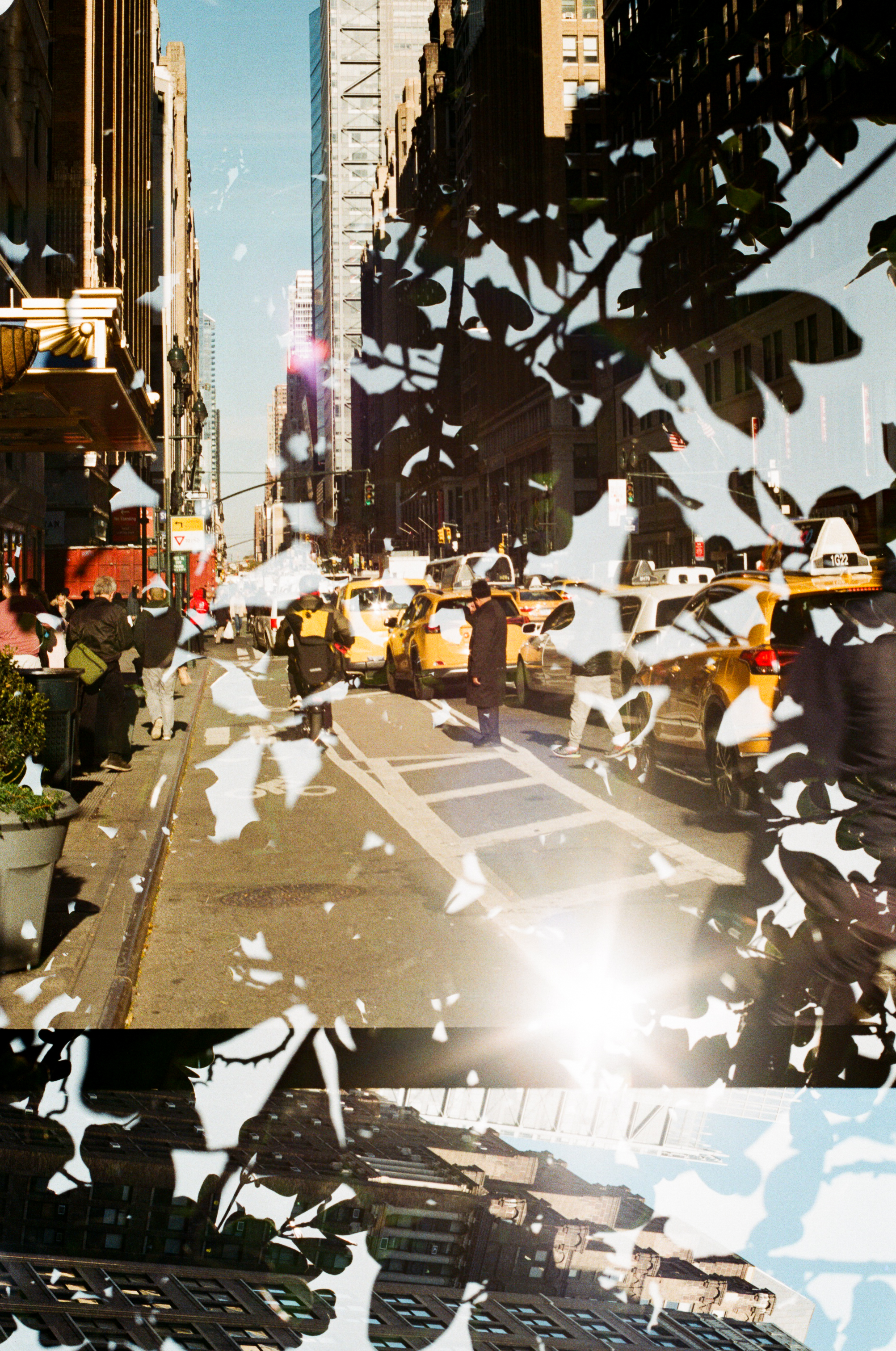 New york & South Africa 35mm Film double exposure3