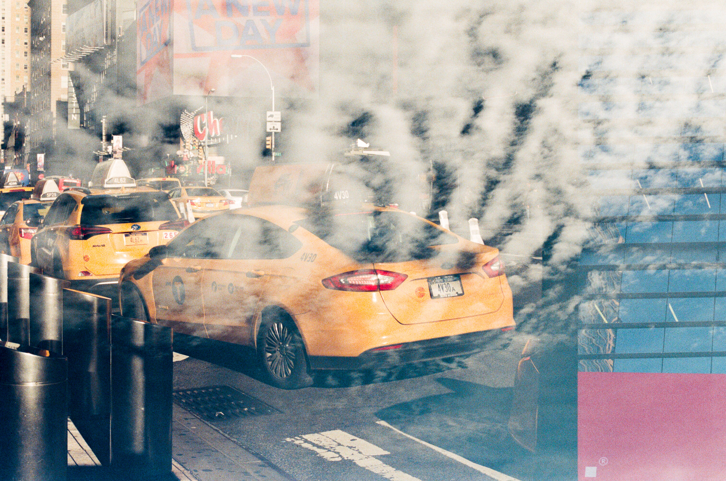 new york and south africa 35mm film double exposures11