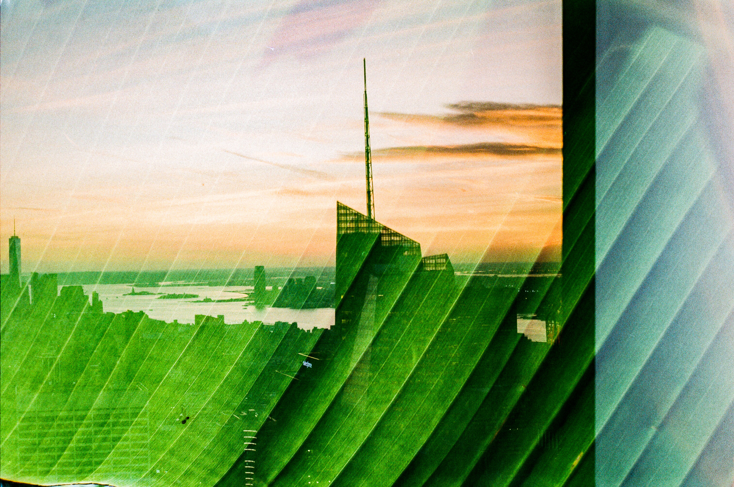 new york and south africa 35mm film double exposures15
