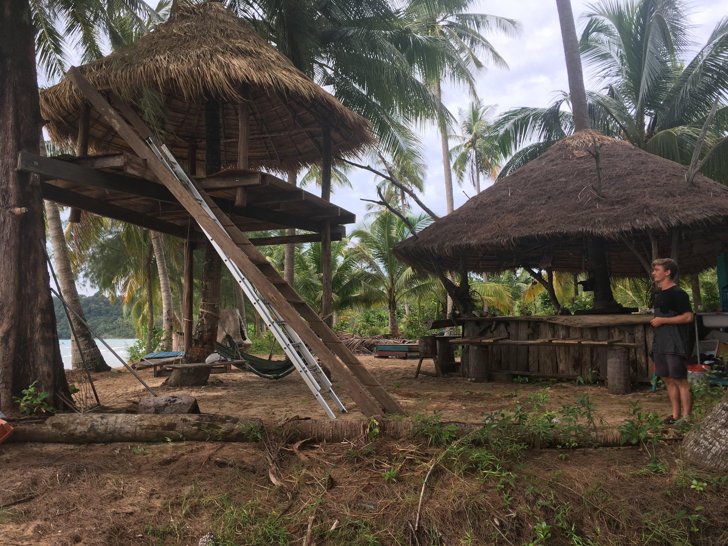 08 Cambodia Lonely beach volunteering.JPG