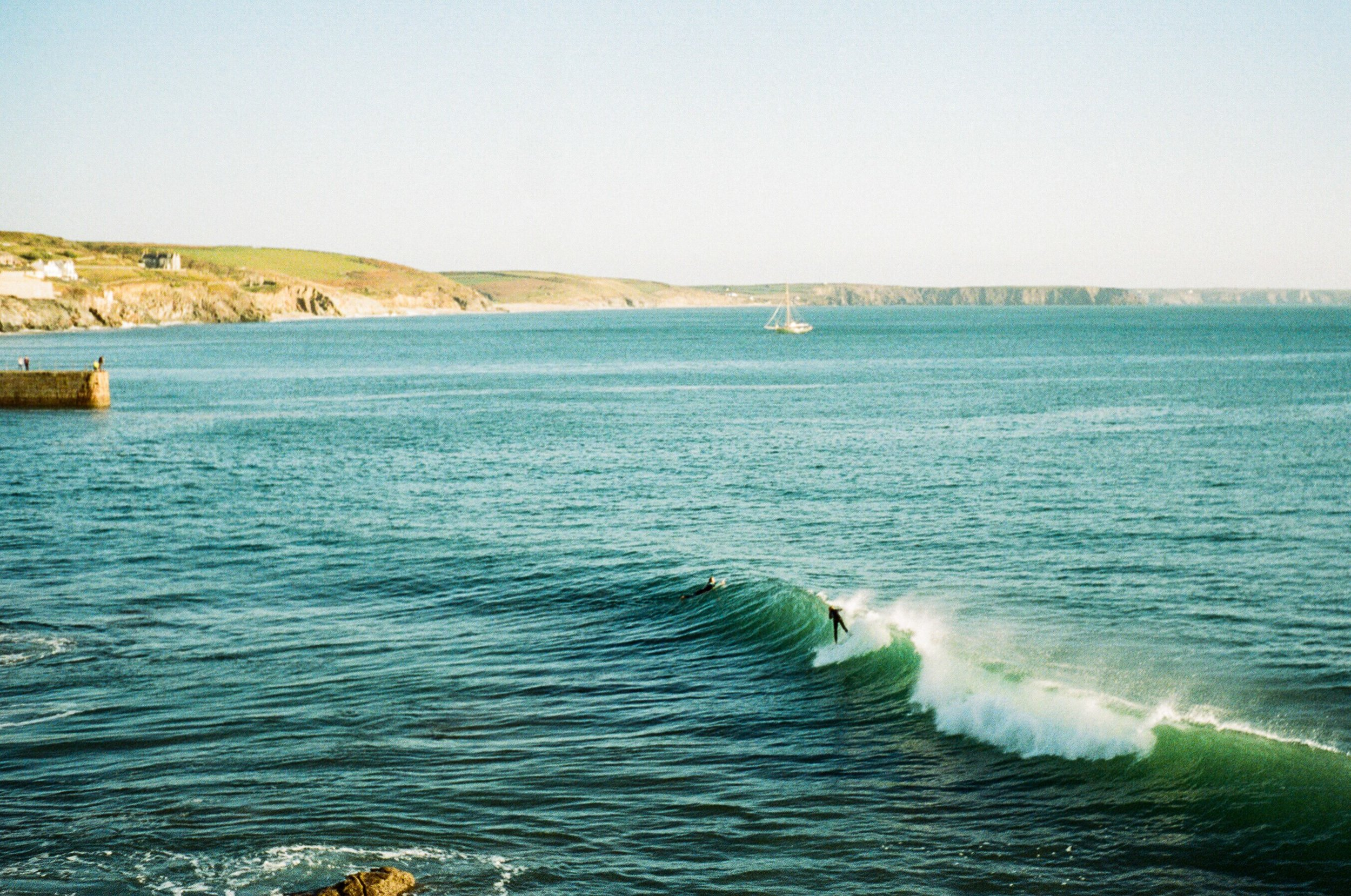 Cornwall, UK. October '18 // 35mm Photographs -