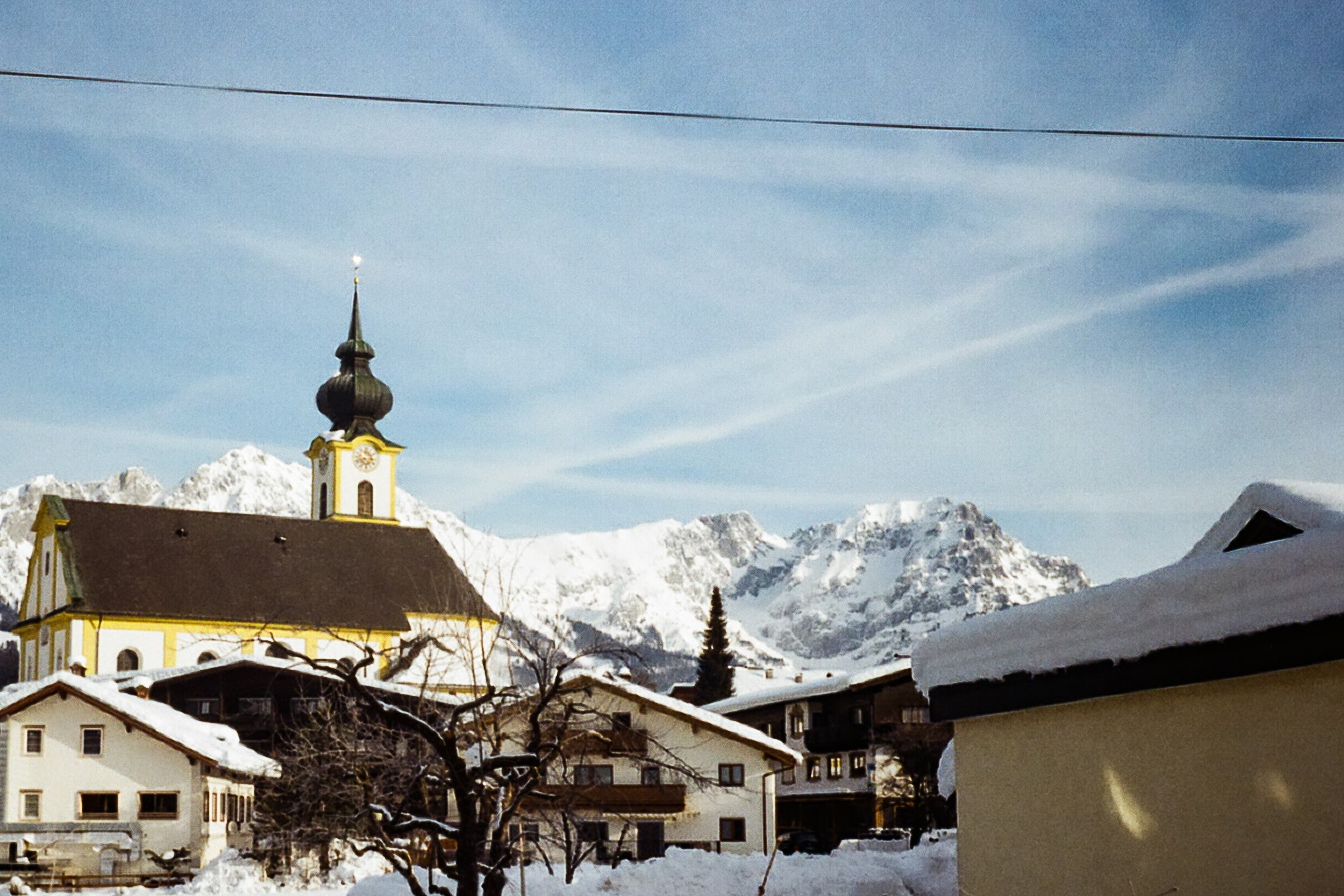 Söll, Austria. January '19 // 35mm Photographs -