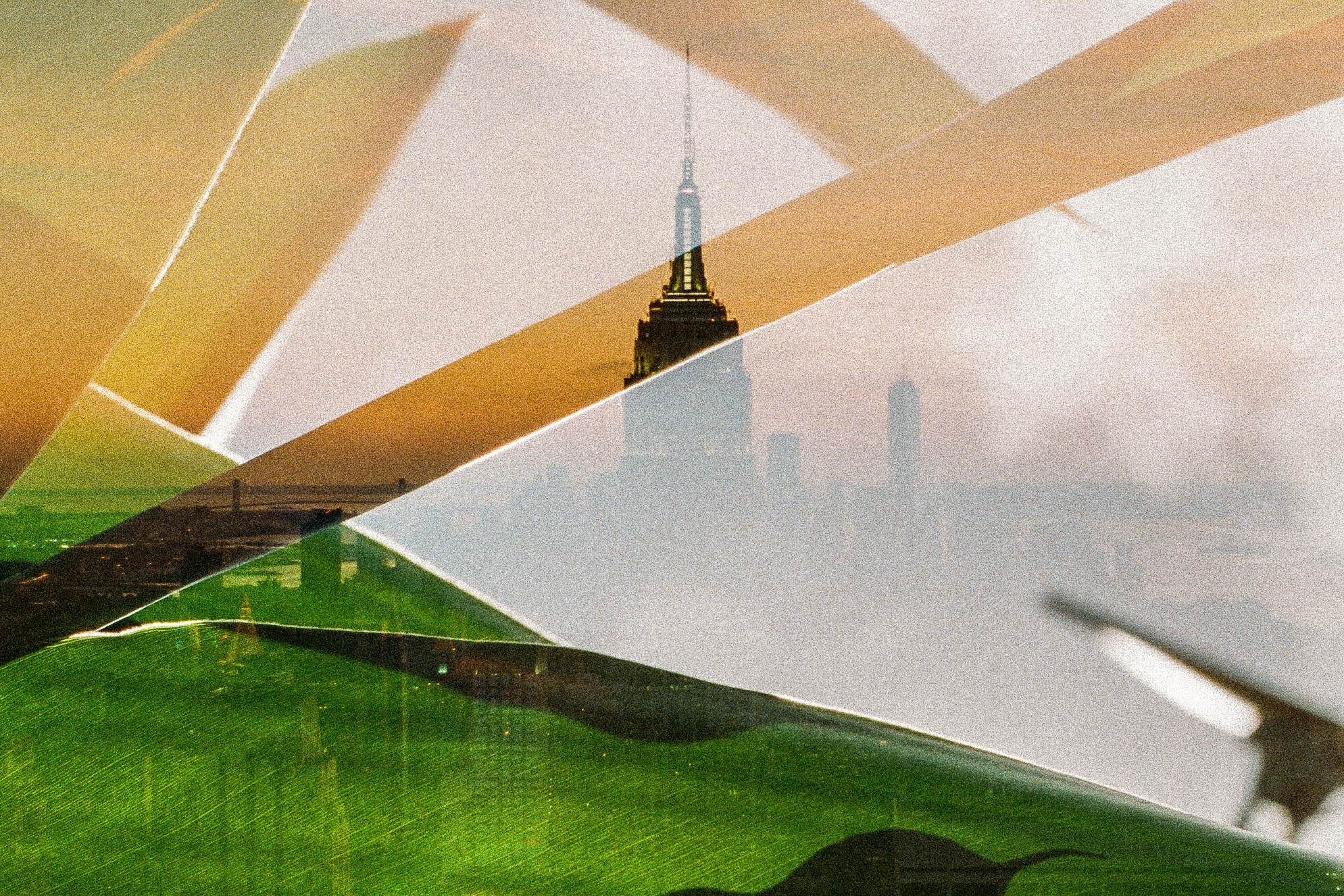 Double Exposures of New York & South Africa. // Experimental 35mm Photographs -