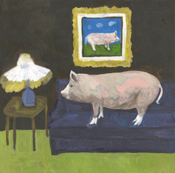 It Was as Plain as a Pig on a Sofa. ©Vivienne Strauss