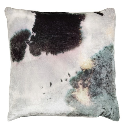 Aviva Stanoff Purple Stain Velvet Pillow; $275+up; abchome.com