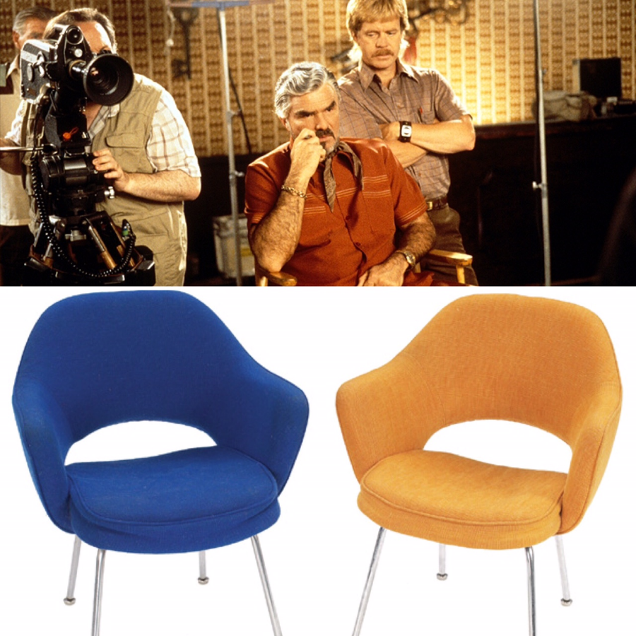"""""""I'm a star. I'm a star, I'm a star, I'm a star. I'm a big, bright, shining star.""""  (Chairs shown are for visual reference only. Not *actual """"Boogie Nights chairs)"""