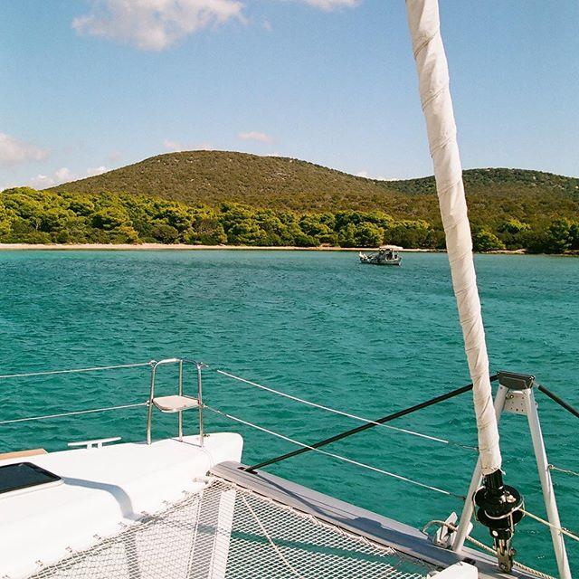 Meltemi shelter ⚓️ #saltyleisure #lagooncatamaran #lagoon450 #visitgreece