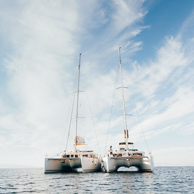 Fully equipped and ready for new adventures ⛵️⛵️ #saltyleisure #lagooncatamarans #visitgreece