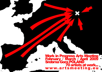 Work in Progress Arts Meeting, Pologne / 2009