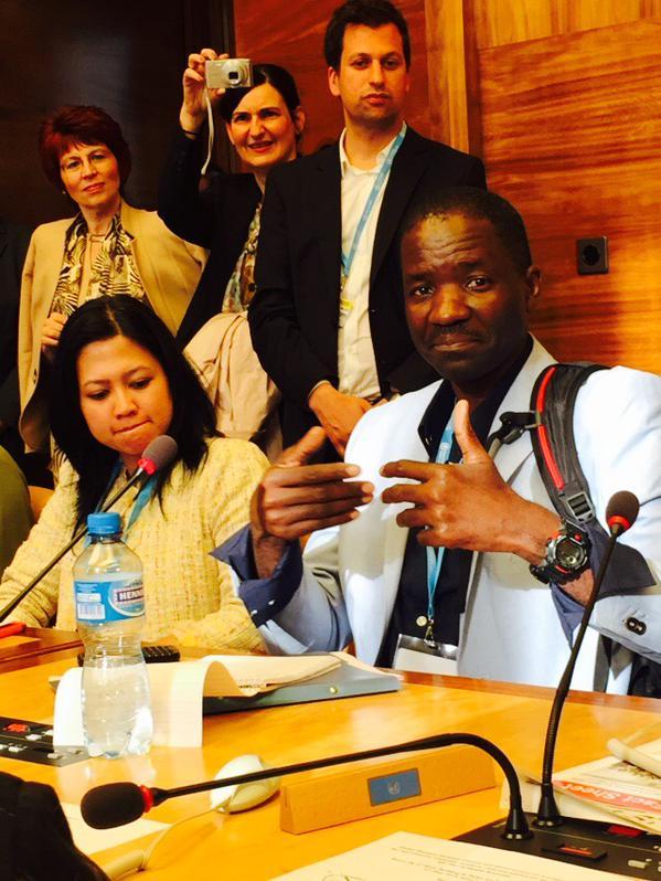 Namibian Health Minister Bernard Haufiku- We must connect to communities.jpg