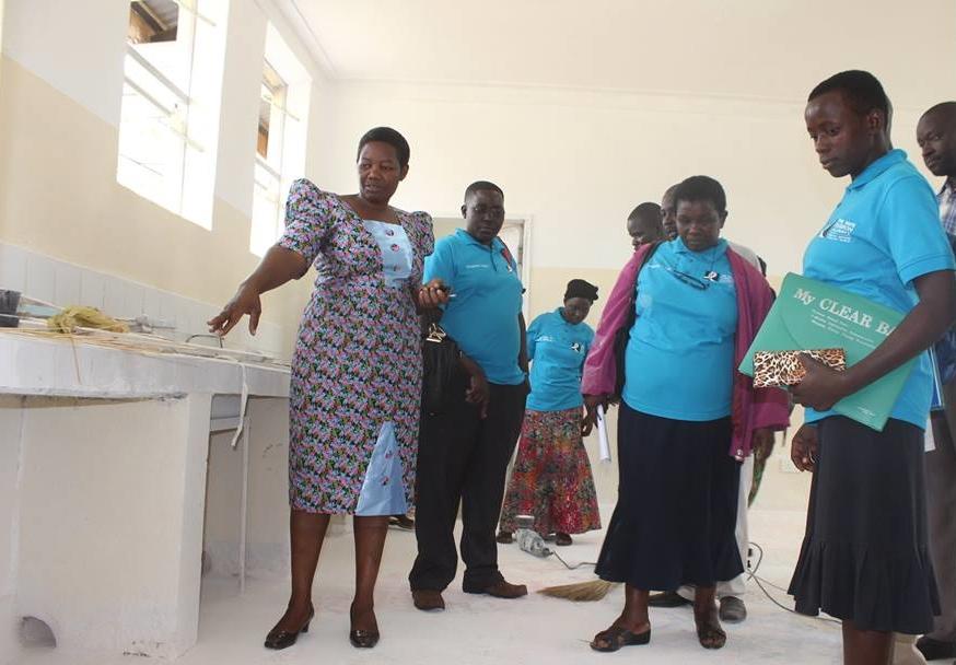 Community monitors in health centre 2.jpg