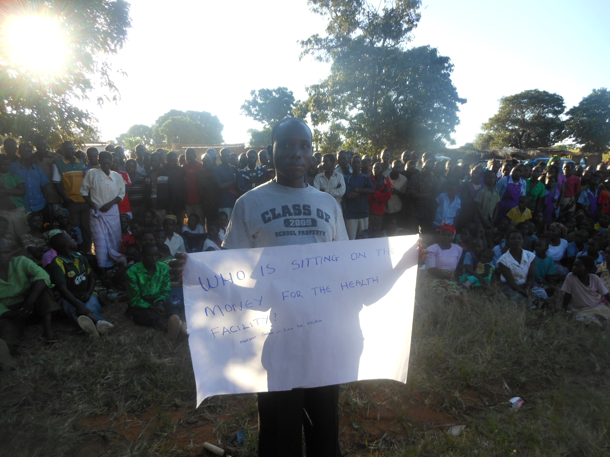 CITIZEN QUOTE- who is sitting on the money for the health facility - no name.jpg
