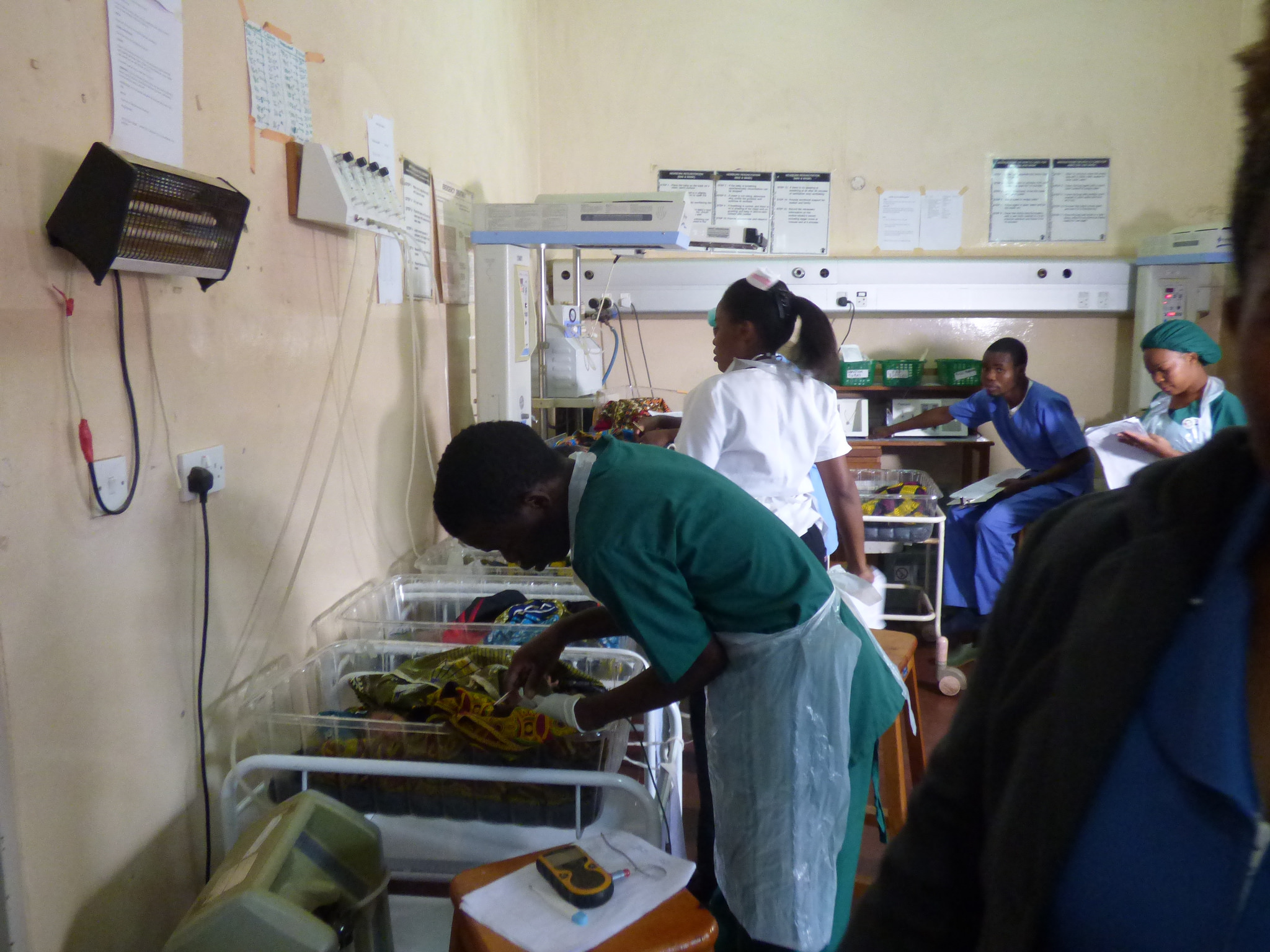 Pre-term newborns require special care after birth and should be kept separate from full-term babies in a hospital's nursery. Photo Credit: WRA Malawi.