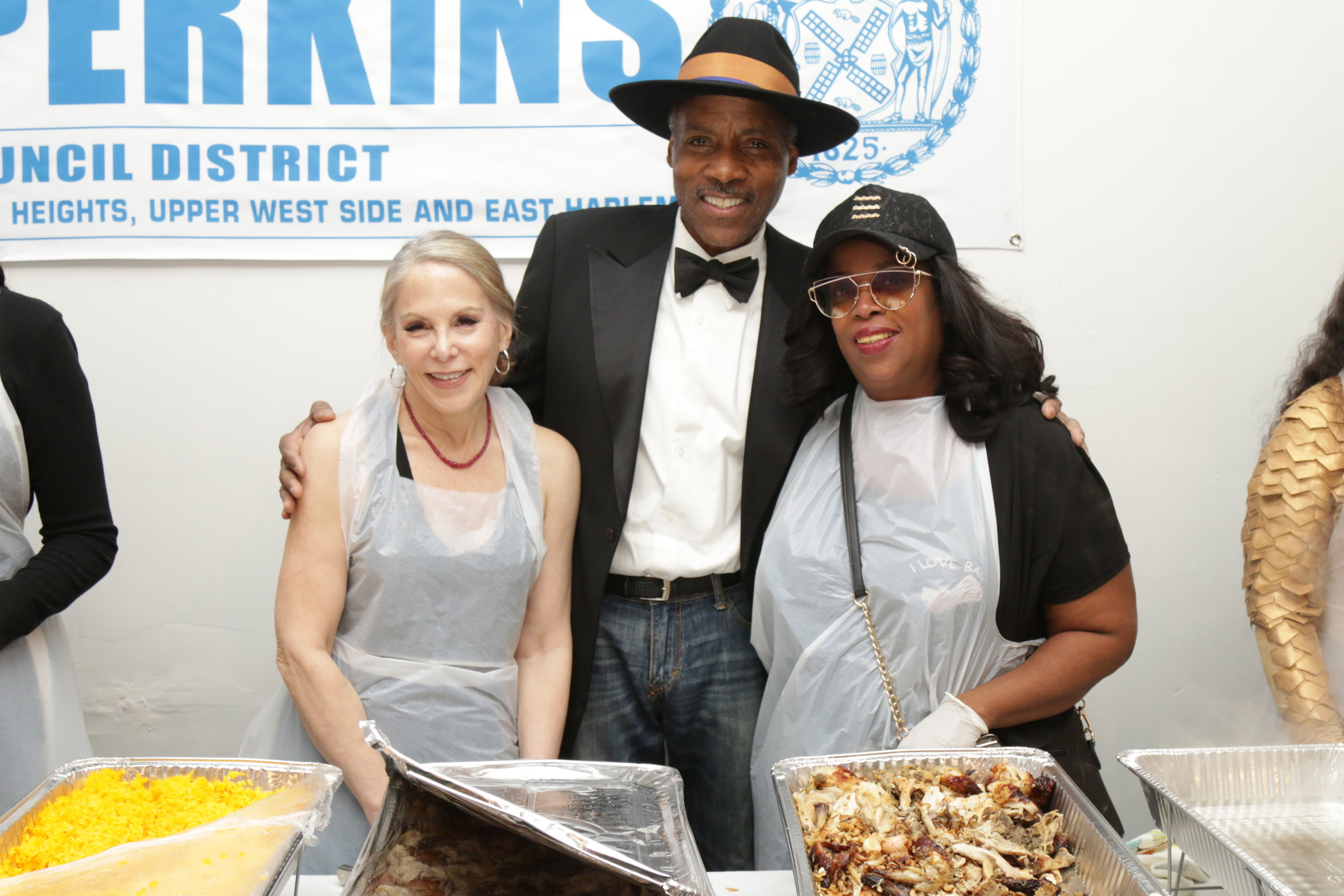 Sheri,Councilman Perkins and close friend Selene Breeden