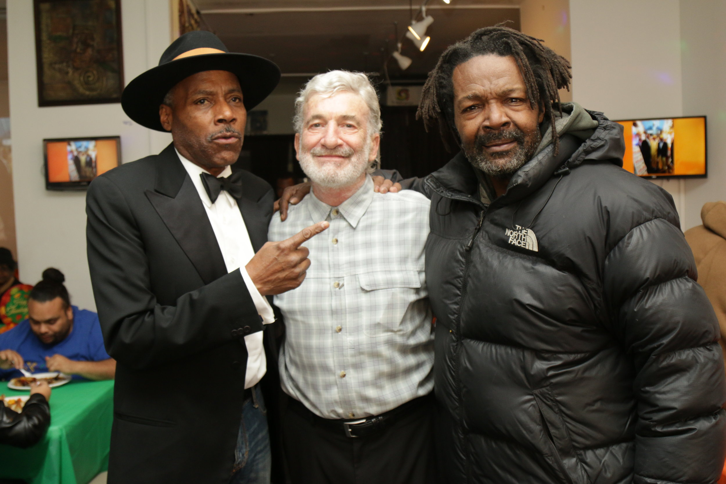 City Councilman Bill Perkins, Jerry Migdol and friend.JPG