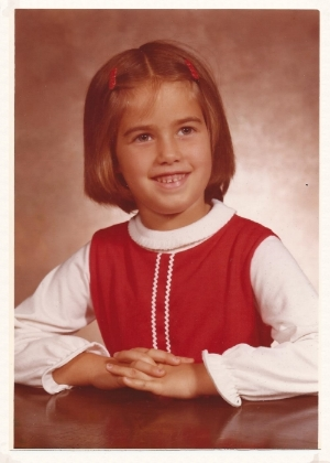 Becky (ME) in the Fall of 1977-First Grade.