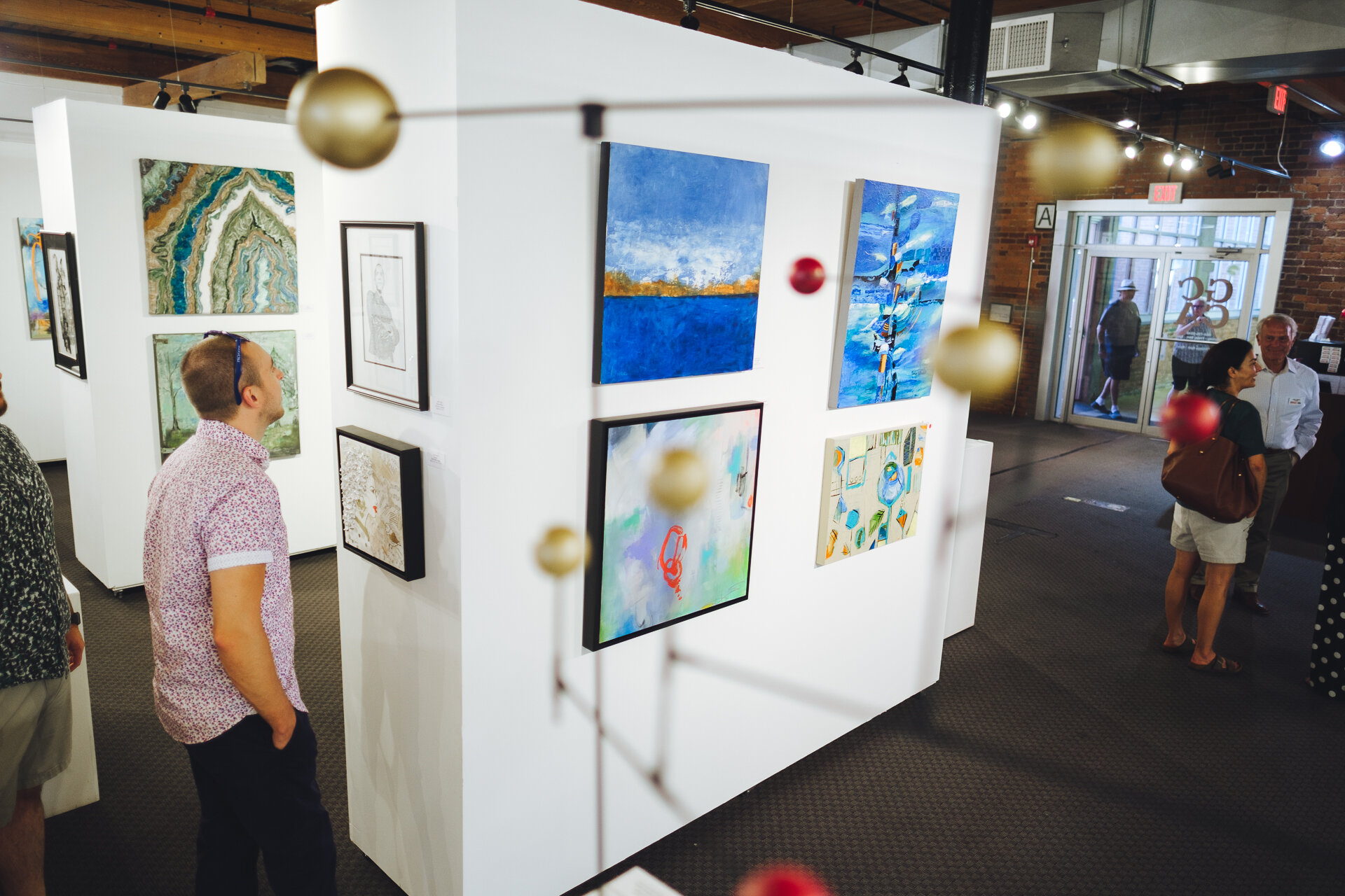 - GCCA ANNUAL SHOWCASEAUGUST 2 - SEPTEMBER 25, 2019The GCCA Annual Showcase included the 2019 Member Show, 2018-2019 Brandon Fellows Final Show, and Summer Art Camp Showcase.The Member Show features individual works of art done by current members of GCCA.This exhibition is open to current GCCA Members, the annual Member Show provides an opportunity for the community to see the breadth and depth of work being created by supporting members of GCCA.The Brandon Fellowship Final Show featured works by the 2018-19 Brandon Fellows Brittany Kelly, Angel Jenkins and Elliot Lovegrove.Sponsored by Greenwood Capital