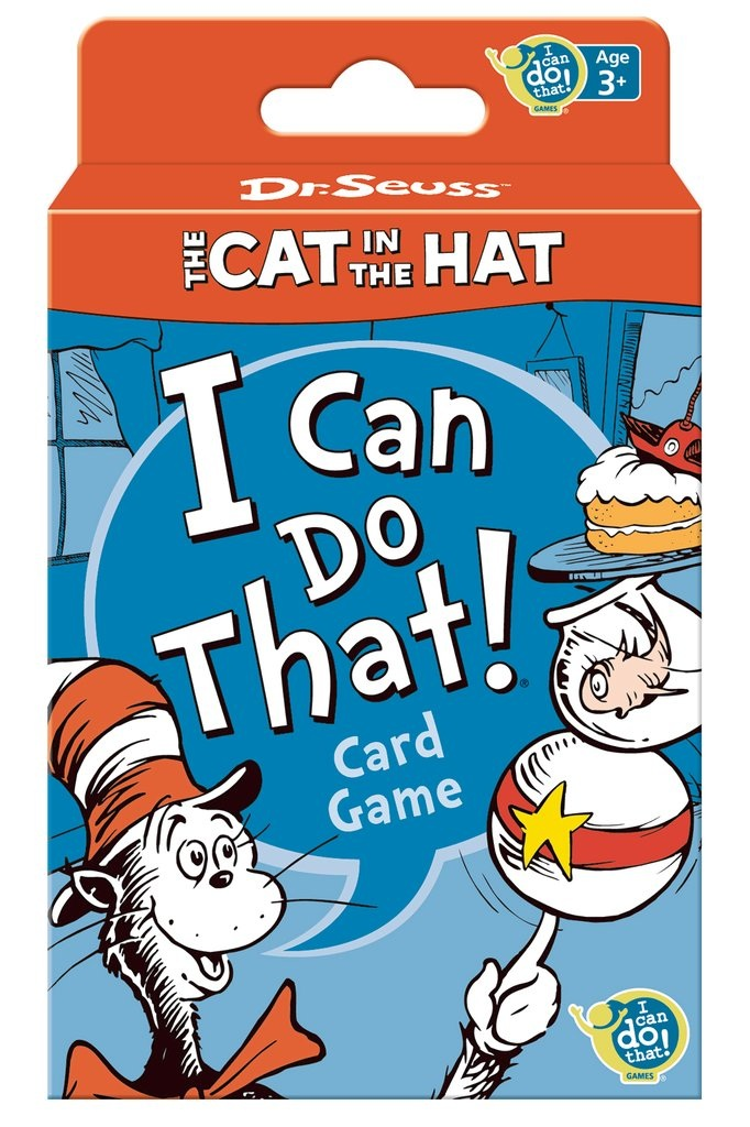 Dr. Seuss™ The Cat in the Hat I Can Do That!® cards   Price: $7.99