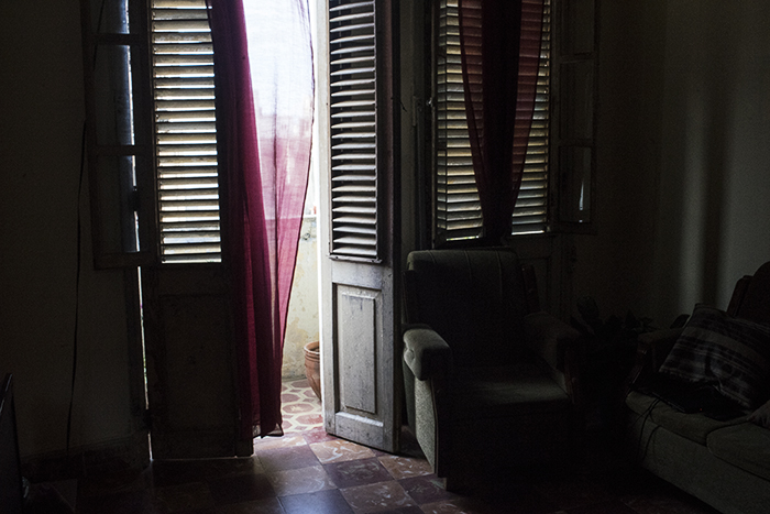 This is the place I stayed at my first night in Cuba