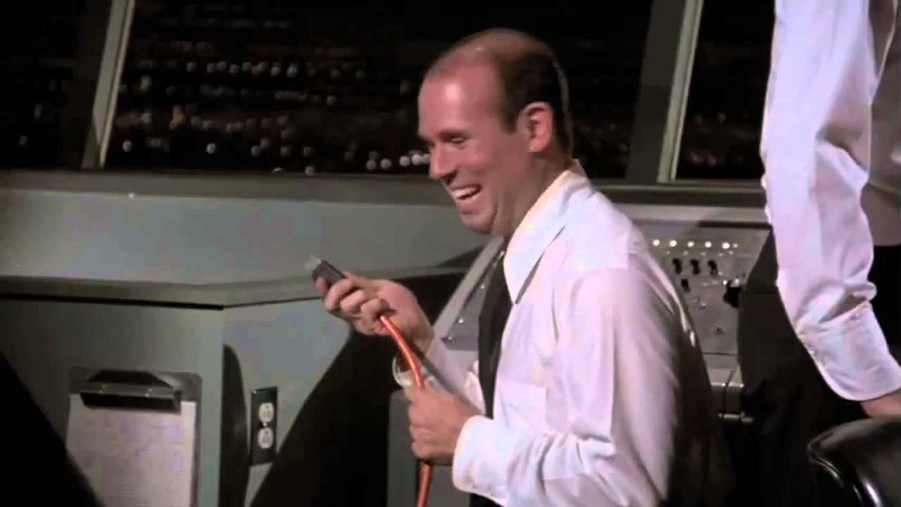 Don Garber's first job as Airport control Manager.
