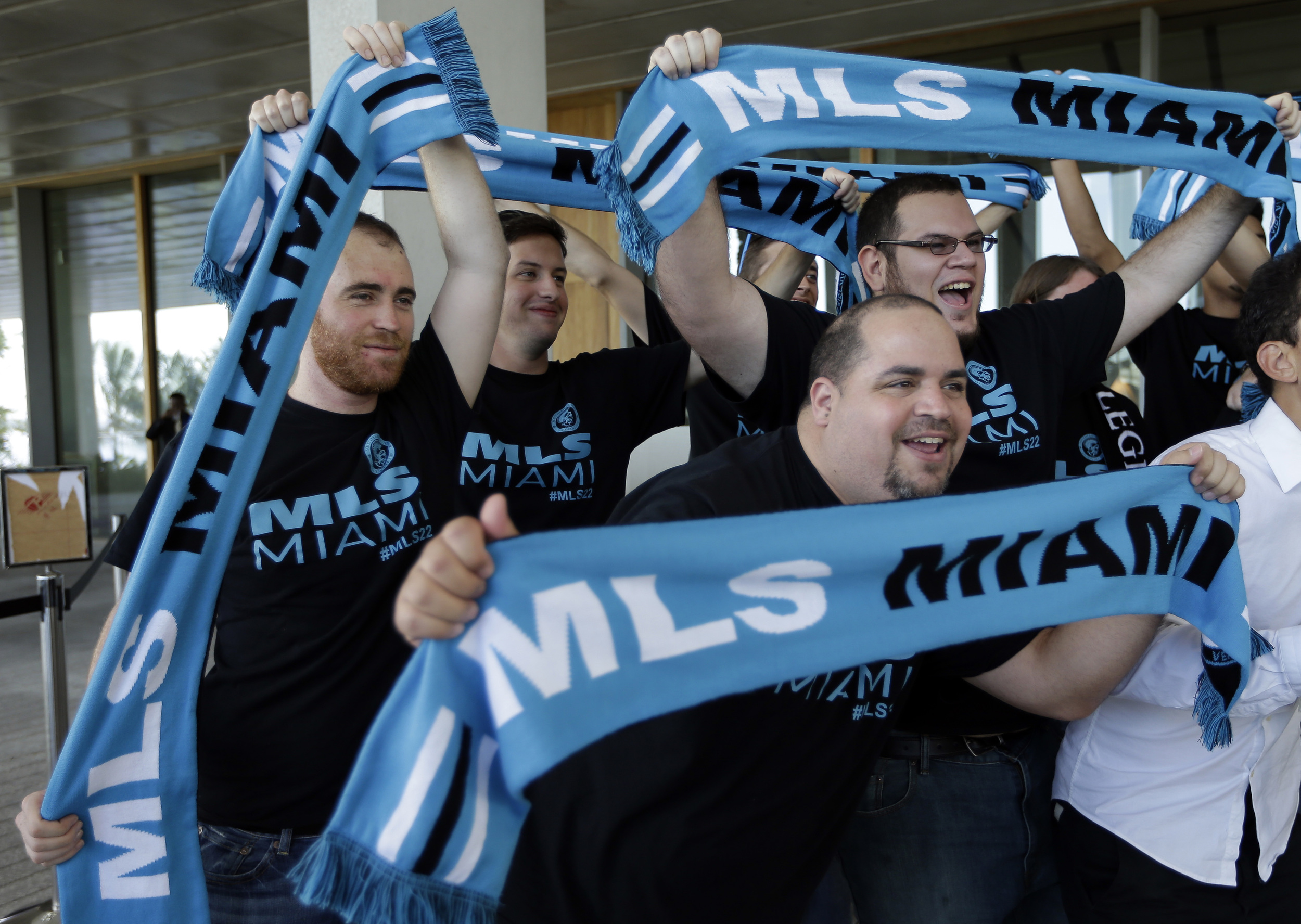 Promotion still with paid models? MLS to MIAMI Coming .... um... at some point.