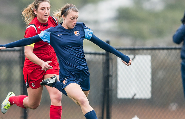 """Theresa Diederich - A Sky Blue FC player for the past two seasons, she graduated from Alabama with 23 goals and 10 assists in 2014. Diederich was recently """"called up"""" to the bench for Sky Blue as an Amateur player.In this way, Sky Blue FC and the NWSL were able to be a massive cheap-as-shit franchise and league and not pay her. Most would call this exploitative and predatory behavior from a league and team, they would be right.  PHOTO: From empire of soccer website:http://www.empireofsoccer.com/finishes-preseason-straight-33457/"""