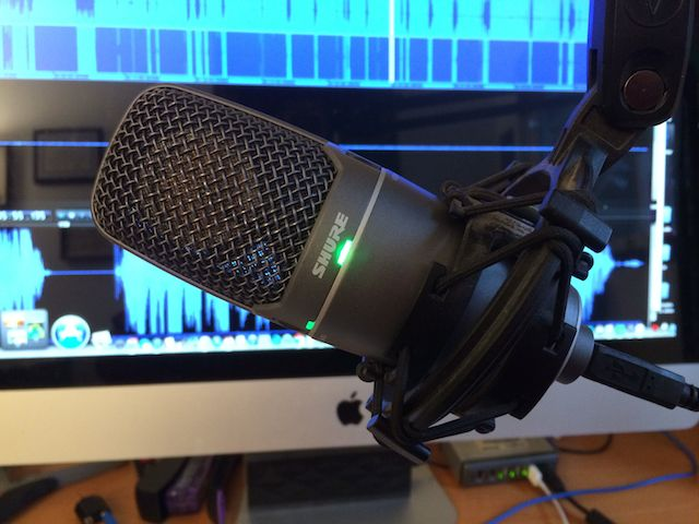 """""""I'd really to spend a few months test driving microphone and computer setups, as well"""""""