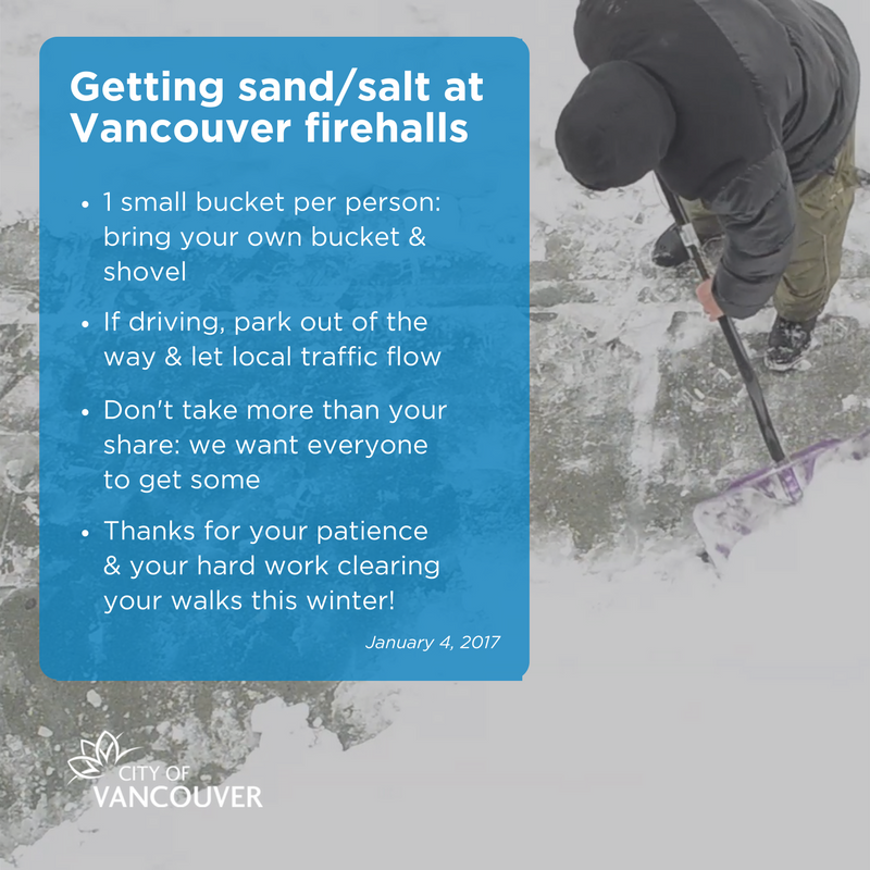 Option 5: Just follow the Whitecaps and you will have more salt than you can use!
