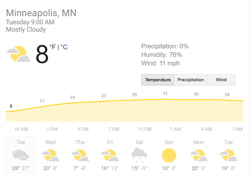 Perfect scarf weather.... wait... Is there a game today?