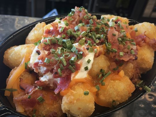 TOTCHOS - Or Loaded Tots - Either/Or. ... Oh... are we going to argue this point? Fine. LOADED TOTCHOS. LOADED TOTCHOS. LOADED TOTCHOS.