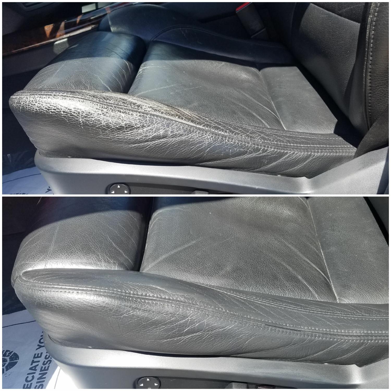 Color Restoration 2007 Bmw X5 Seat Doctors