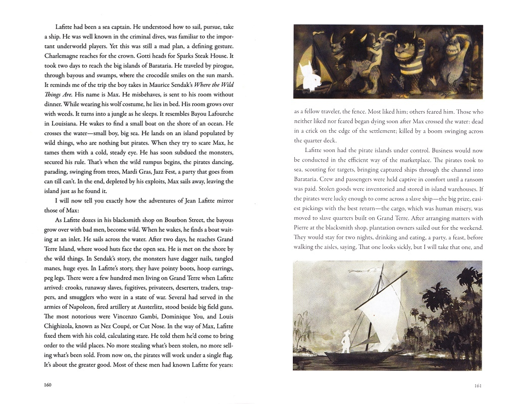 """ILLUSTRATIONS FOR """"PIRATE CITY"""",  THE PARIS REVIEW ,ISSUE #201"""