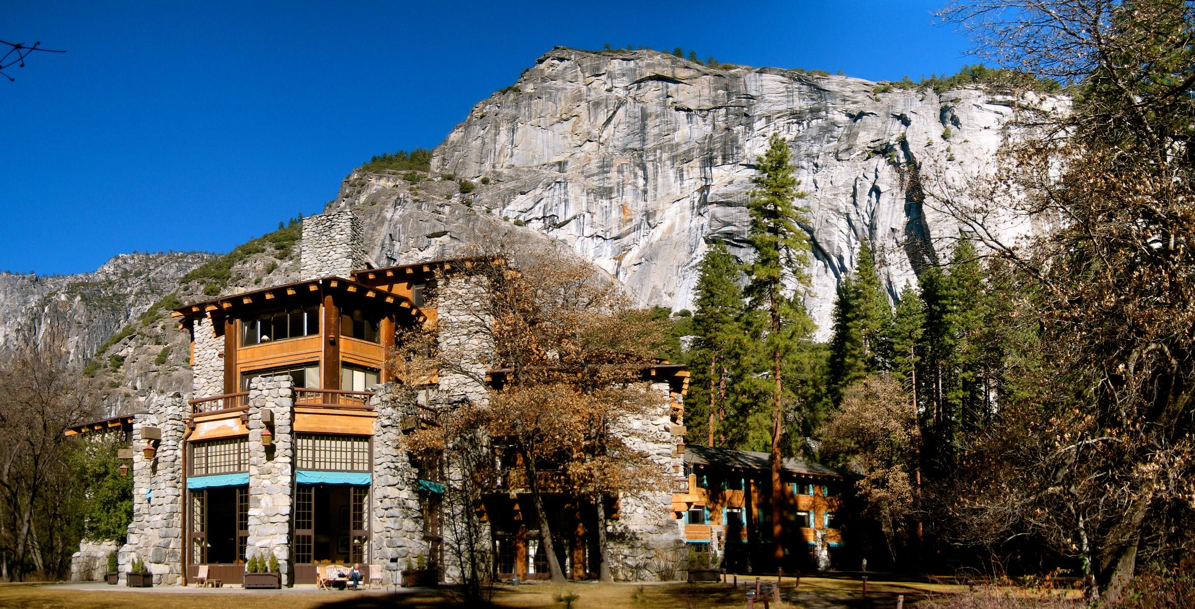 Historic Awanhee Hotel in Yosemite Valley