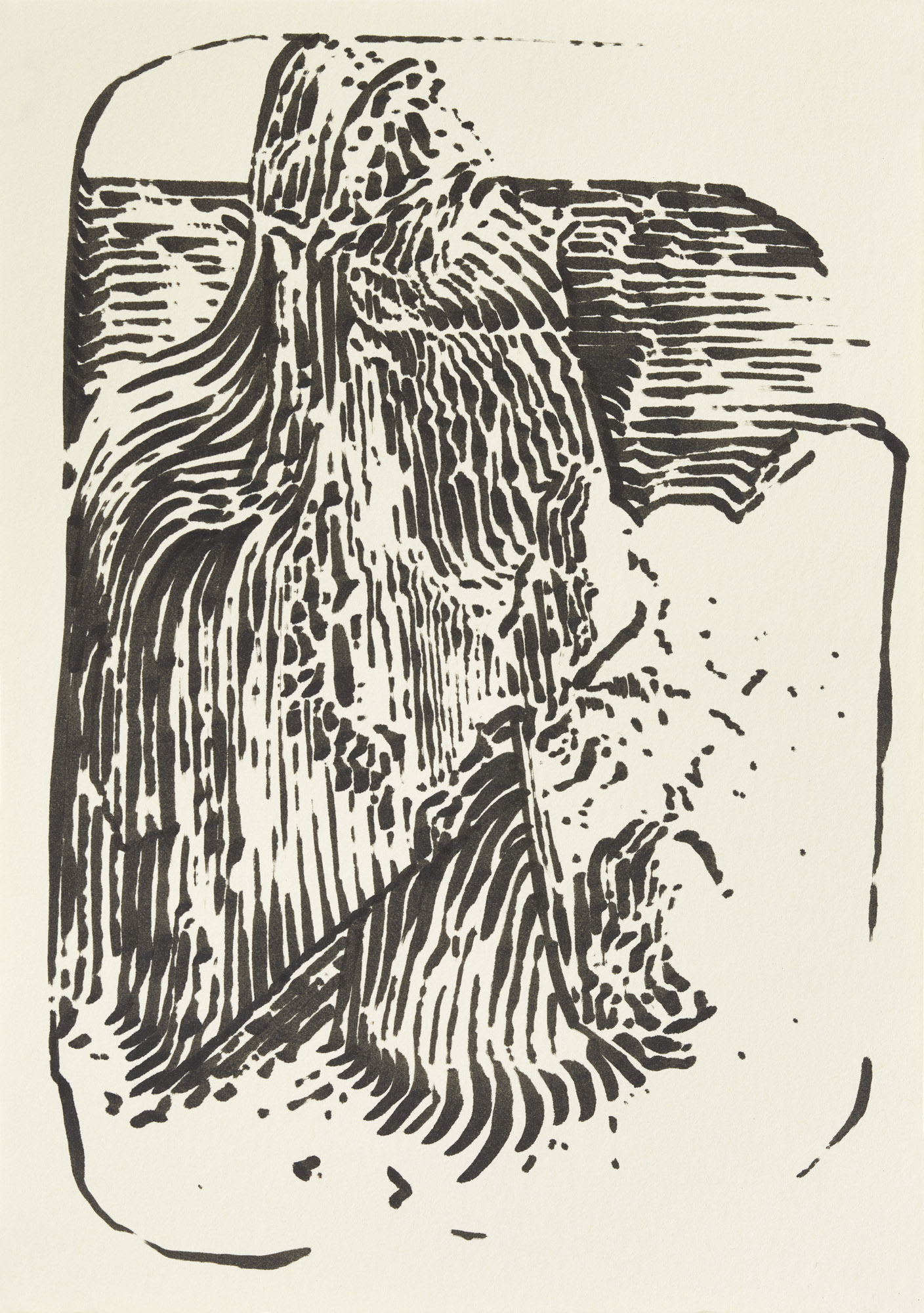 BK P7530 | untitled | ink on paper | 21x15cm | 2015