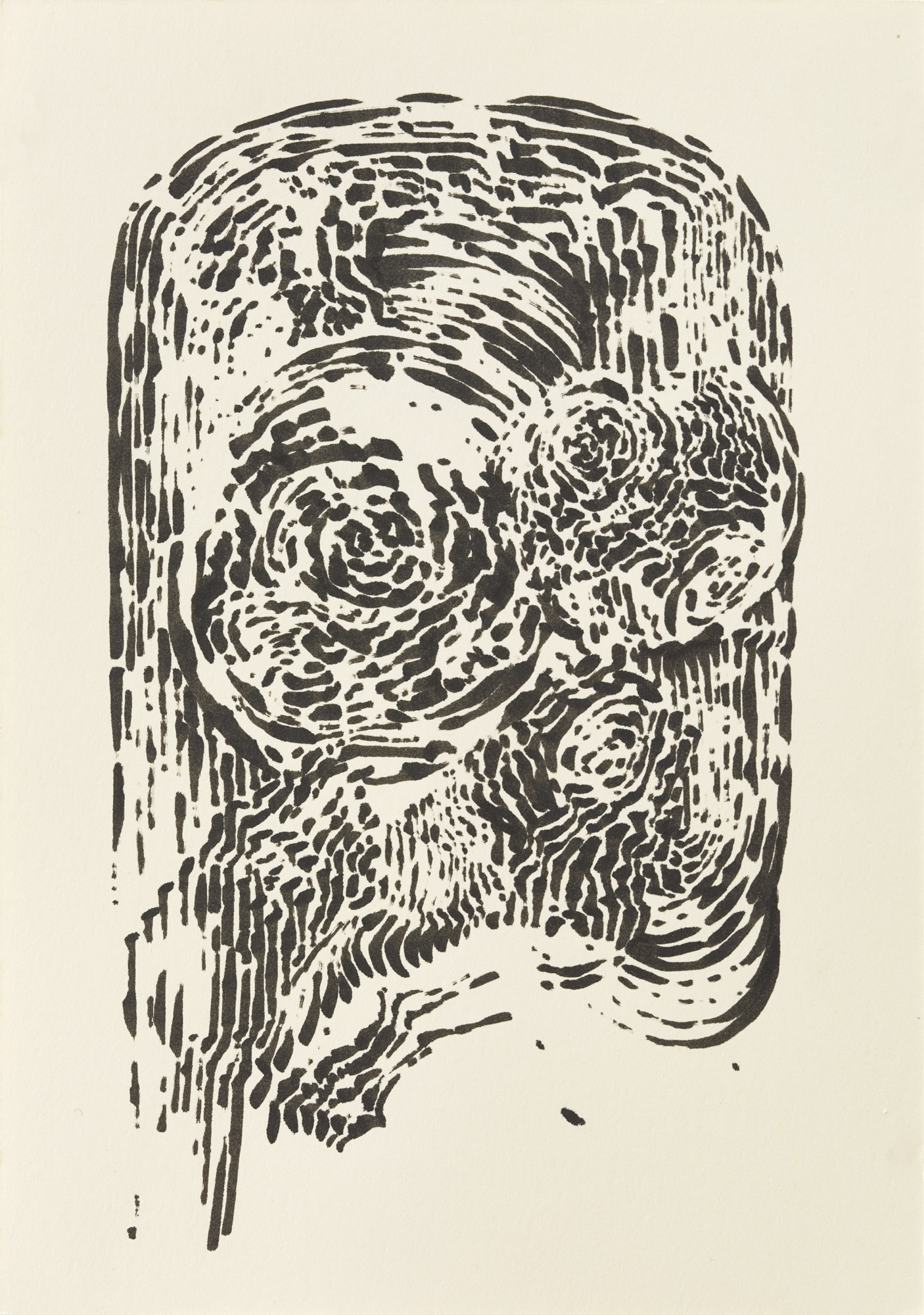 BK P7533 | untitled | ink on paper | 21x15cm | 2015