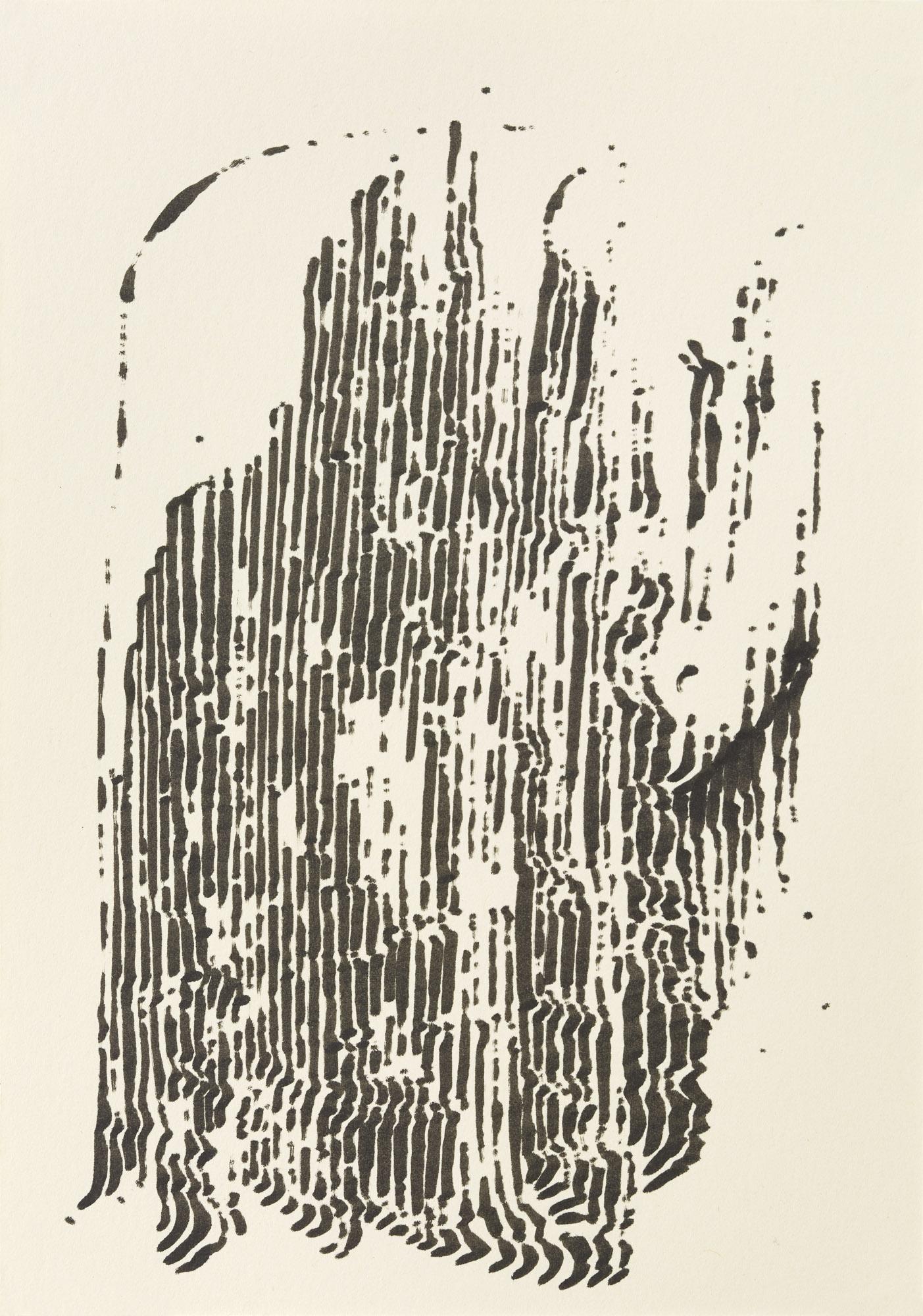 BK P7540 | untitled | ink on paper | 21x15cm | 2015