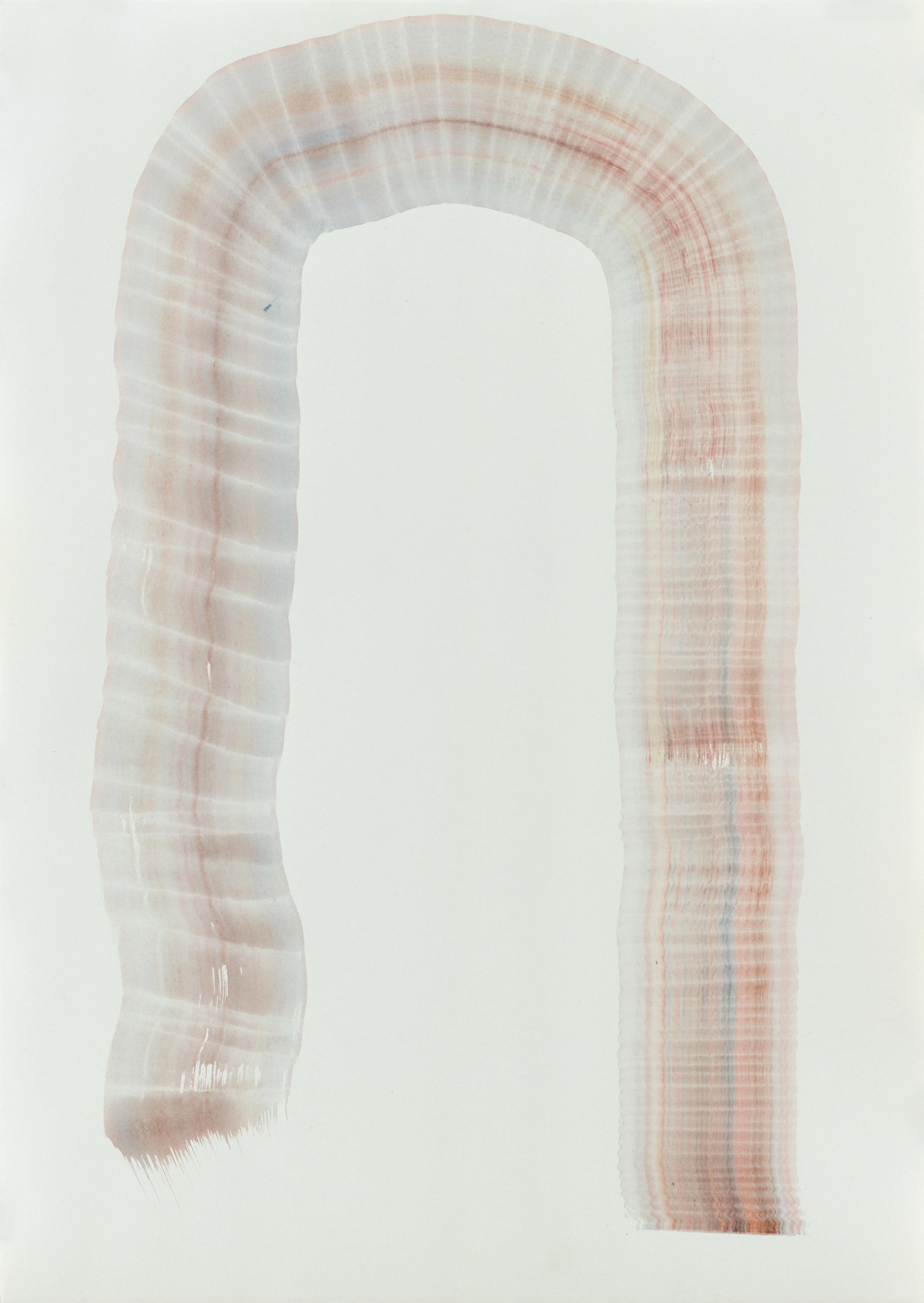 BK P0684 | untitled | acrylic on paper | 59x42cm | 2015