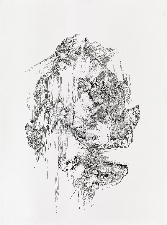 BK P131 | ink on paper | 120x100cm | 2013 | privat collection wuerzburg