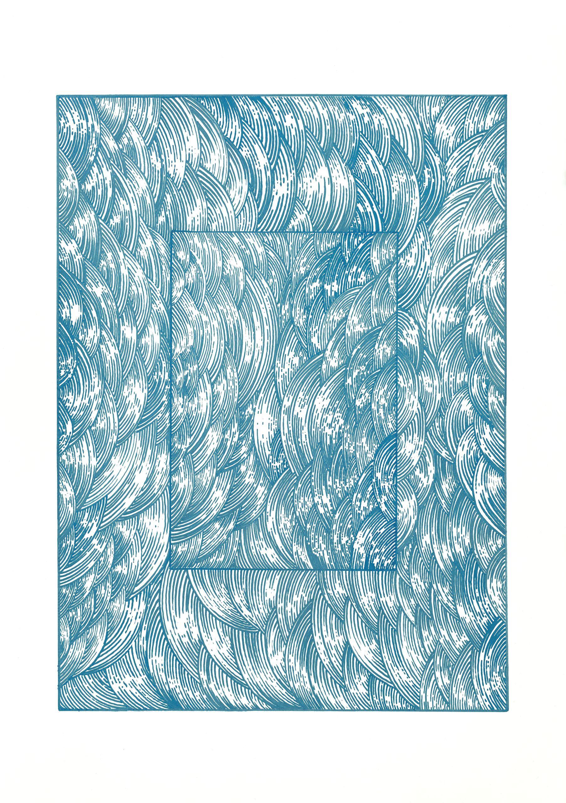 BK P157 | untitled | acrylic on paper | 2013