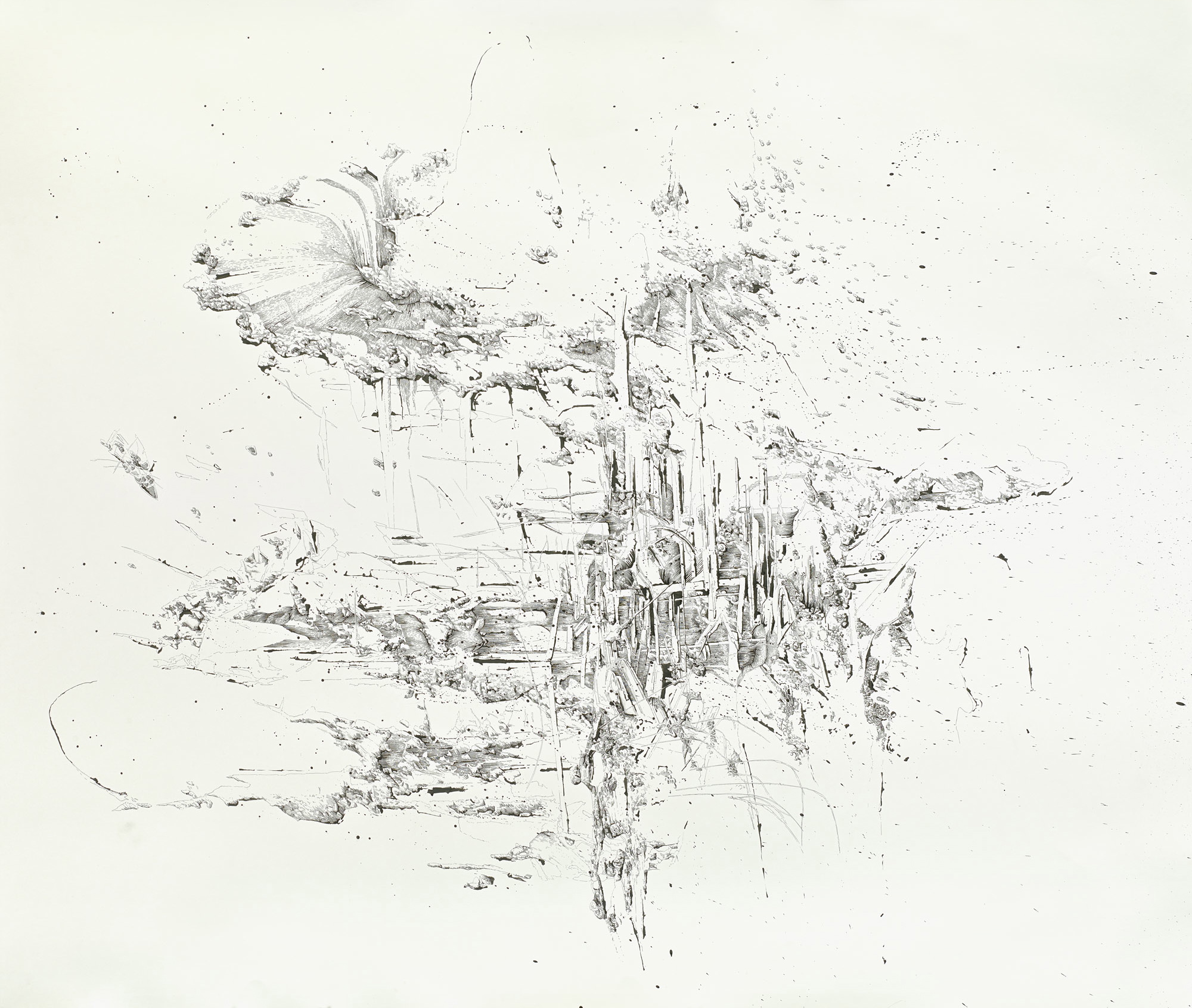 B_K-8788 2_untitled_ink_on_paper_150x200cm_2013