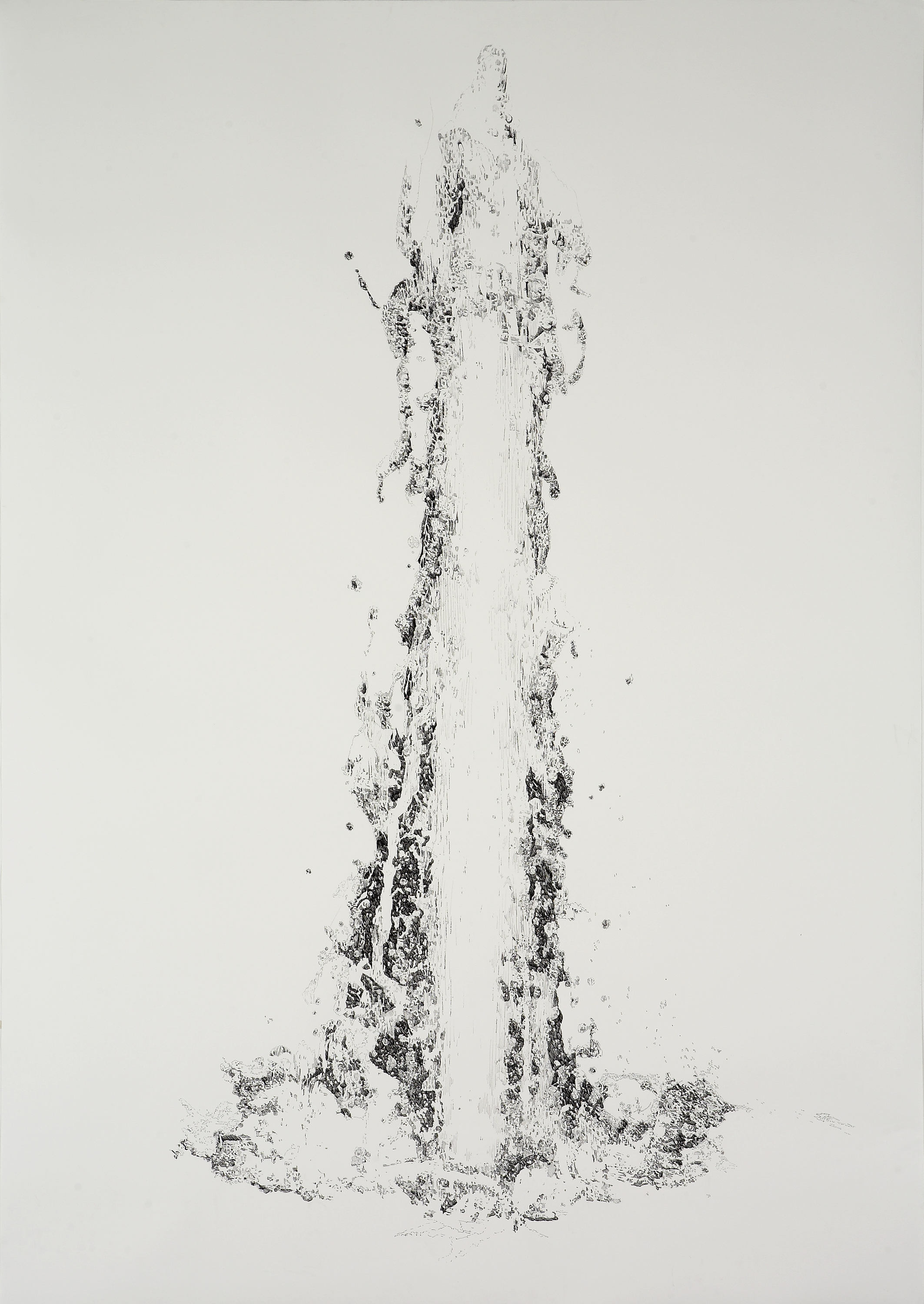 BK P5.002 | untitled | ink on paper | 200x150cm | 2011 | privat collection berlin