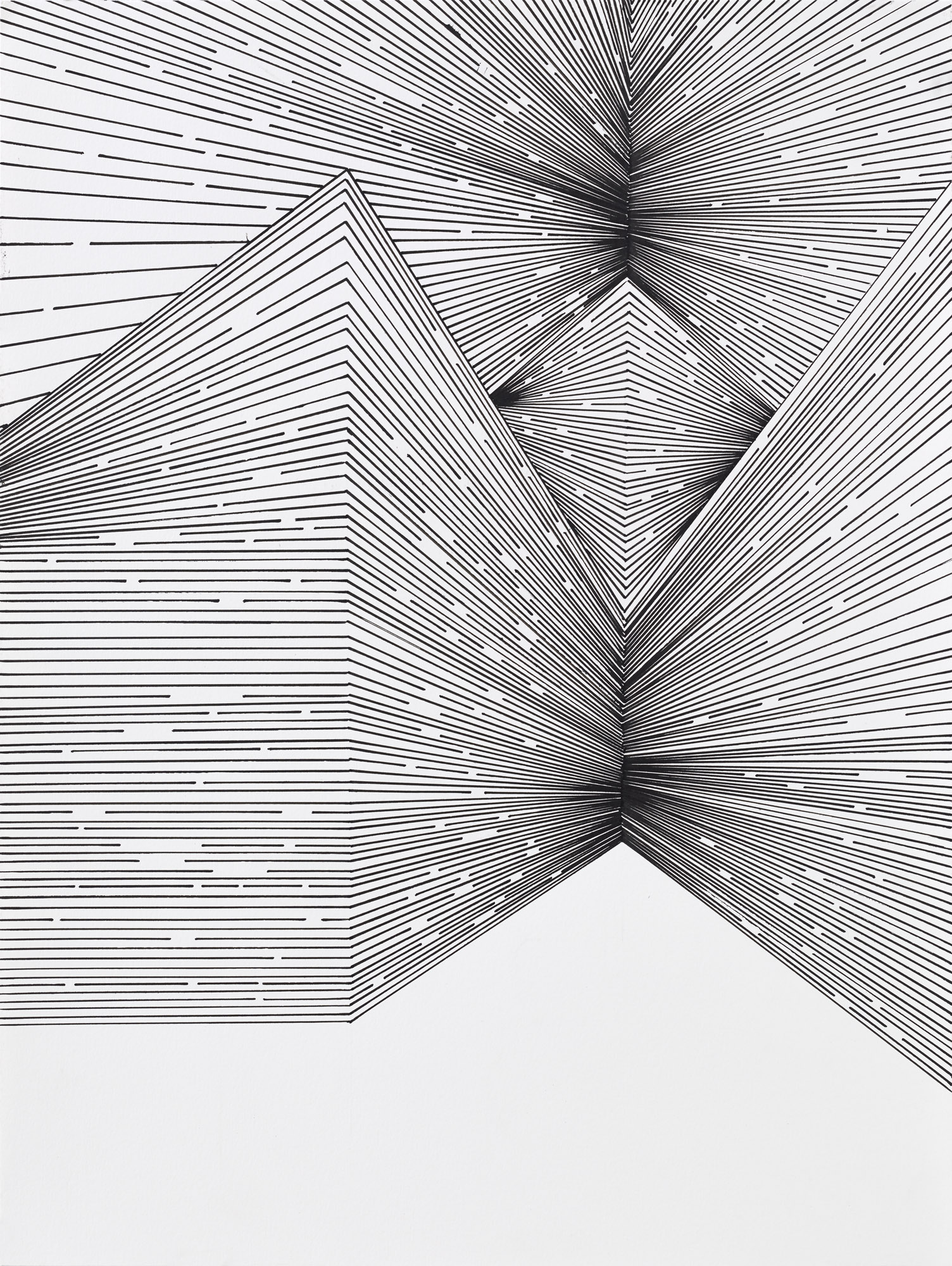 BK P 7513 | untitled acrylic on paper | 40x30cm | 2015 | collection ritz carlton berlin