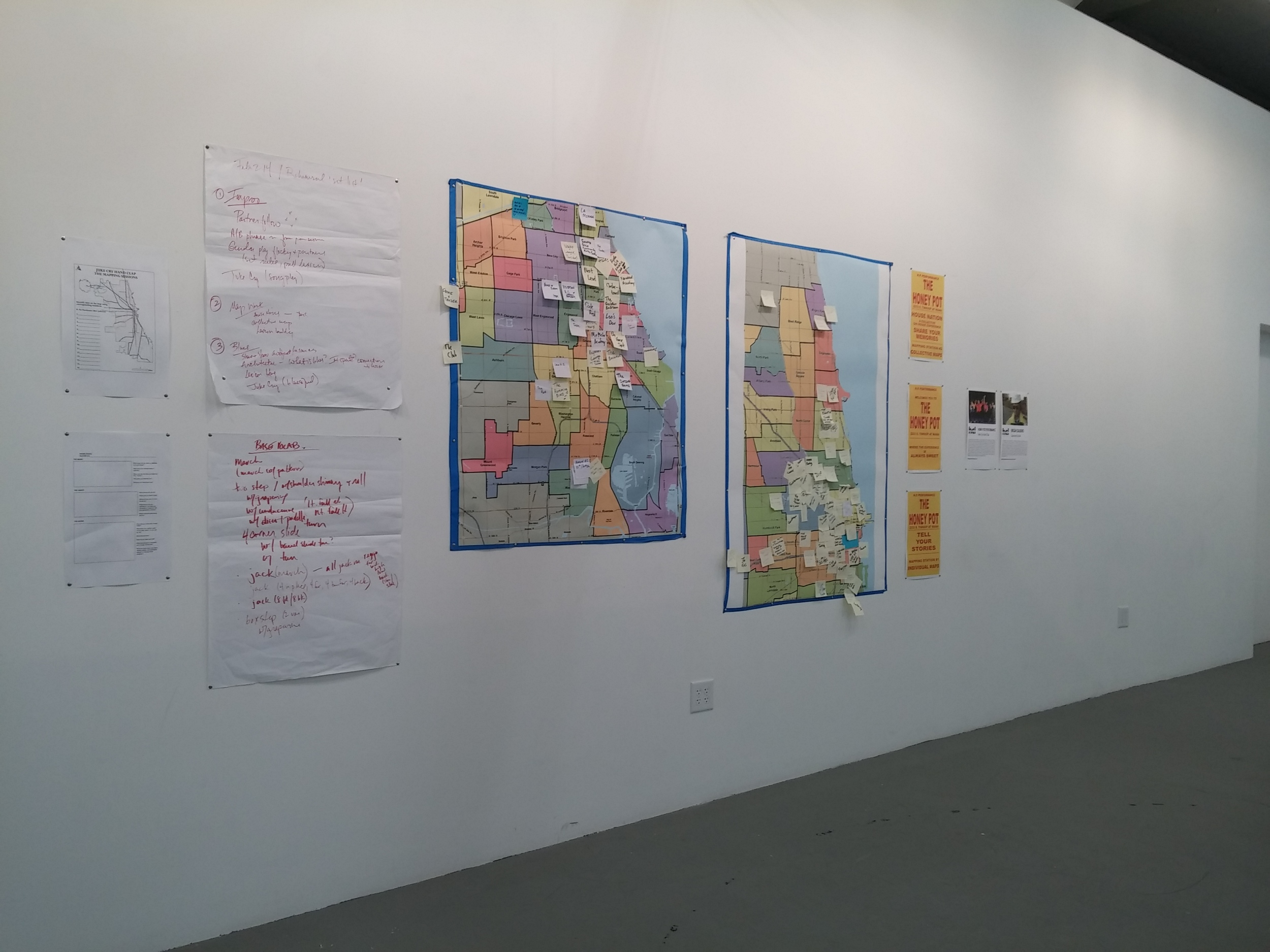 Juke Cry Hand Clap, Mapping Sessions, 2014