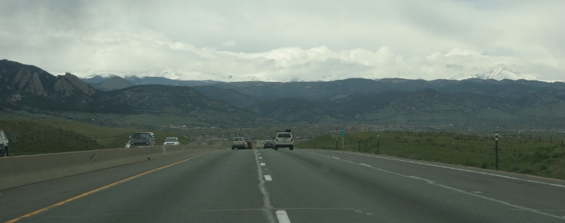 View from US36, on route from Denver to Boulder, May 2005
