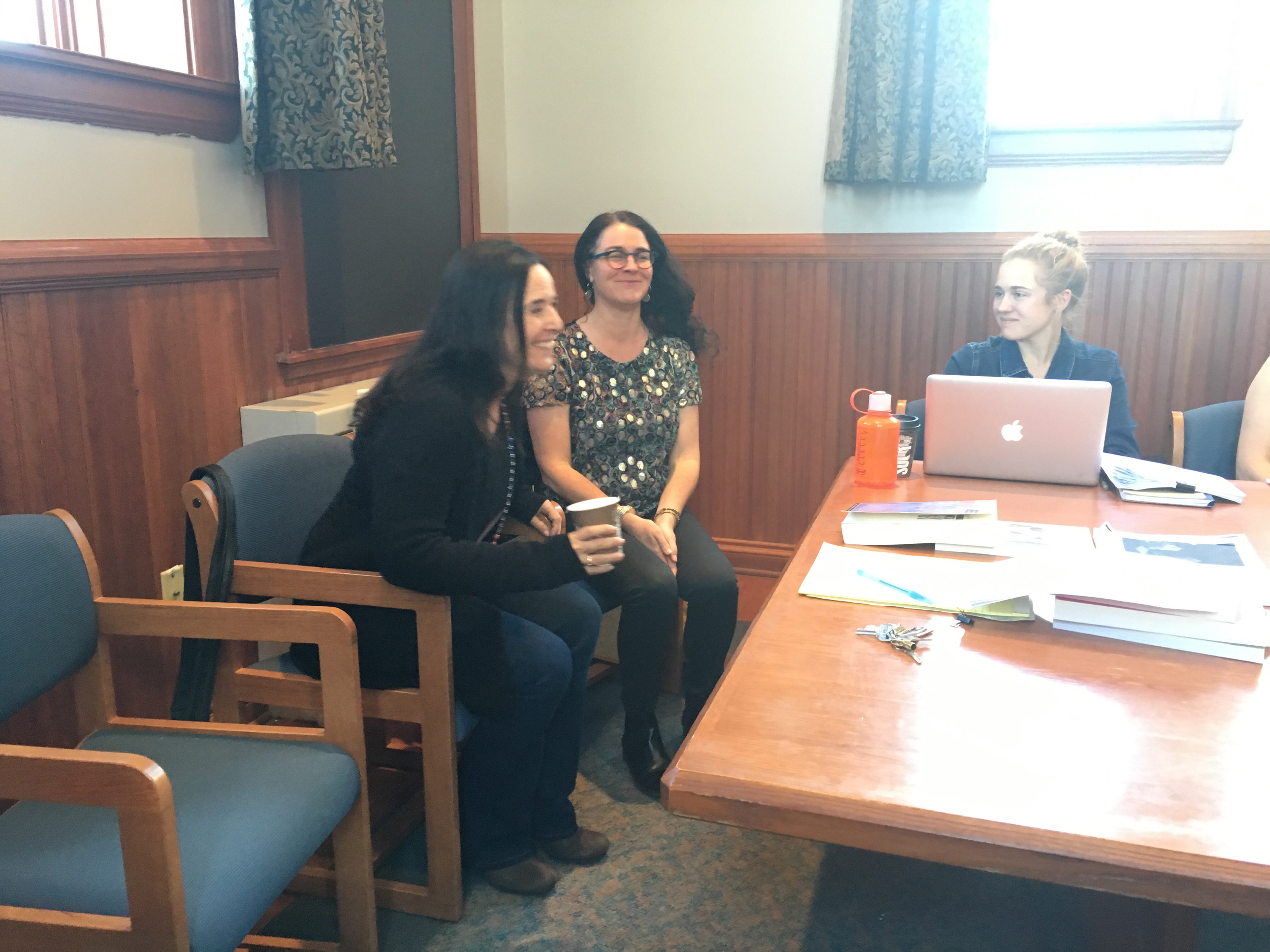 Ruth Behar visits Carole McGranahan's Graduate Seminar in Anthropology, April 6, 2016