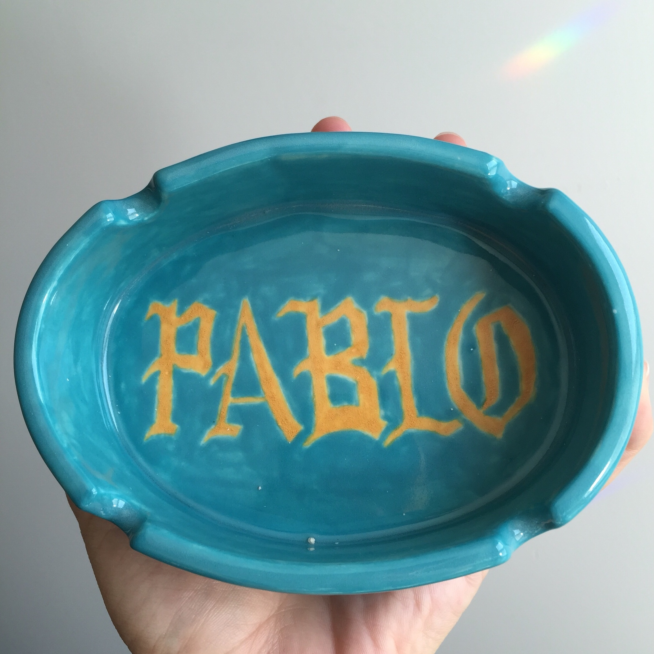 SOLD  Pablo Ashtray (2016)