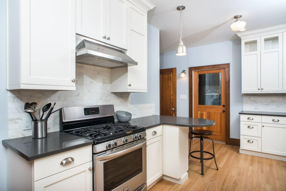 Morton Contemporary Kitchen Forward Design Build Remodel