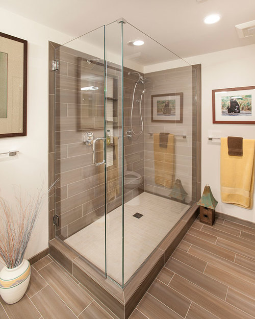 Remodeling this bathroom was part of a full interior condo renovation.